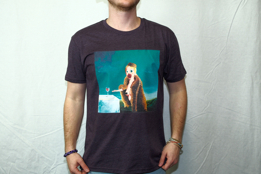 "T-Shirt. ""The New Mona Lisa"""